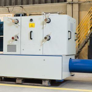 Com capacidade para moer até 1.500kg por hora, a Linha MRM possui avançada tecnologia de moagem com rolos refrigerados