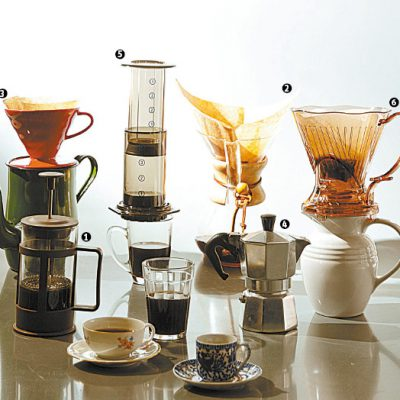 Aprenda a preparar os mais variados tipos de café