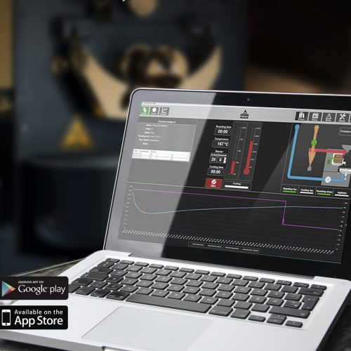O Pilot Roaster Shop é um software que permite aos profissionais controlar com precisão a curva de torra.