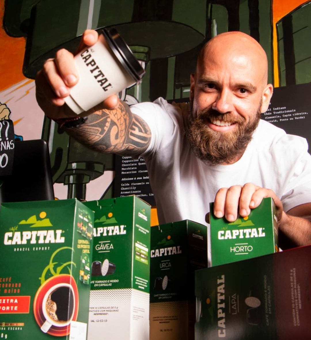 Turbo 1000, o torrador industrial que mudou a história do Felipe Inácio e do Café Capital